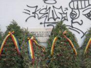 Cimitirul Eroilor din Miercurea-Ciuc profanat septembrie 2016