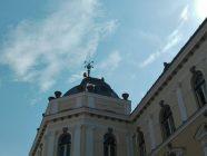 drapel romania turla primaria sfantu gheorghe 8 septembrie 2016
