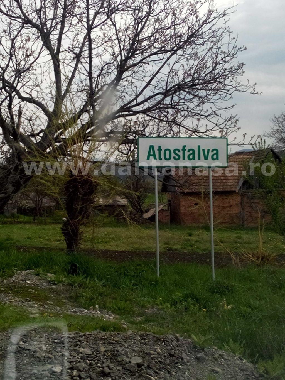 indicator intrare sat hotesti comuna ghindari mures limba maghiara